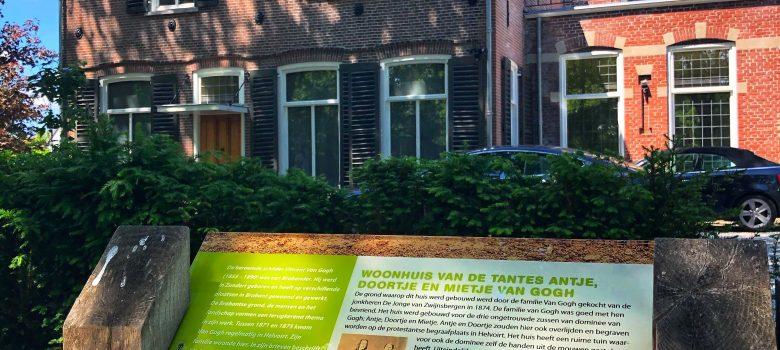Van Gogh informatiepaneel wandelroute Helvoirt